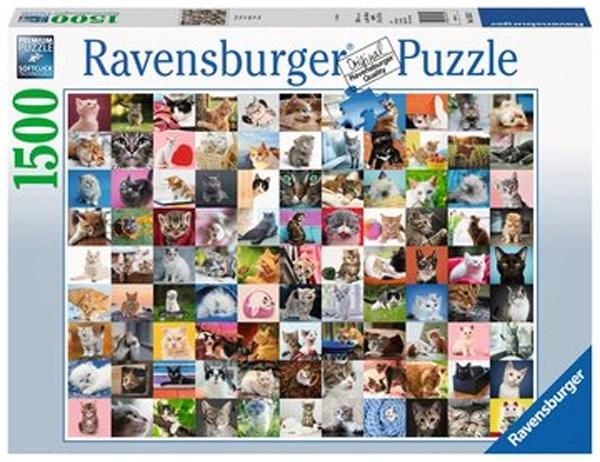 Ravensburger Puzzle 99 Katzen