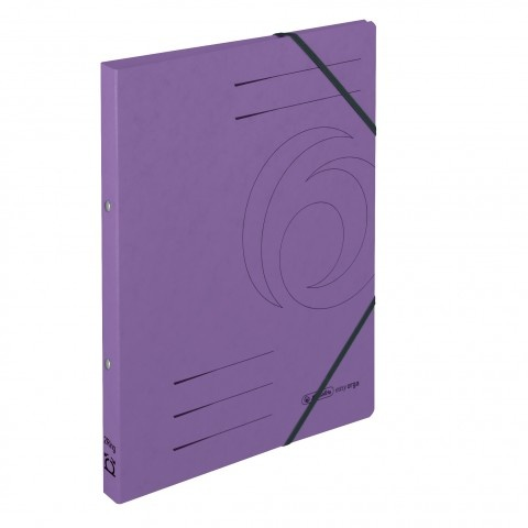 Ringhefter Colorspan-Karton A4 lila von Herlitz