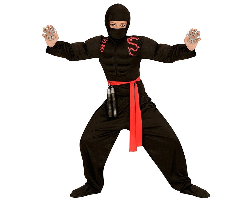 Kostüm Super Ninja Gr. 140