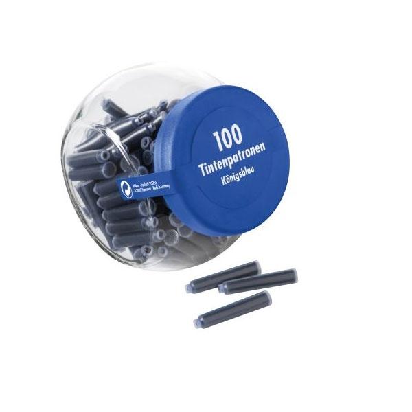 Tintenpatronen-100/Glas Königsblau