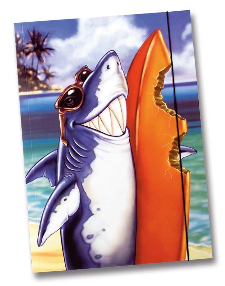 Sammelmappe A3 Hai