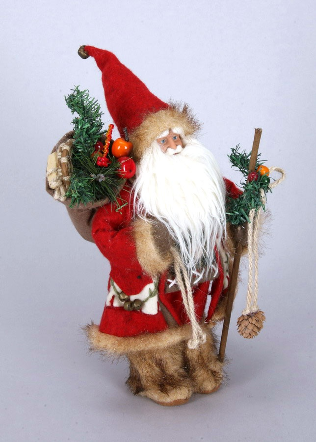 Santa Claus 31 cm rot