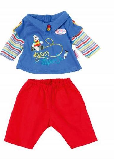 Zapf Creation Baby born Jungs Kollektion rote Hose