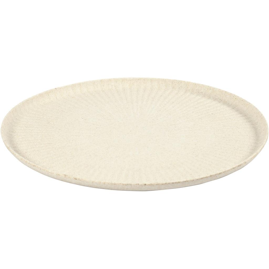 Bastelmaterial Bambus-Tablett 30 cm