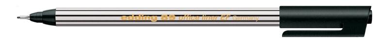 Edding 89 office liner EF Fineliner schwarz