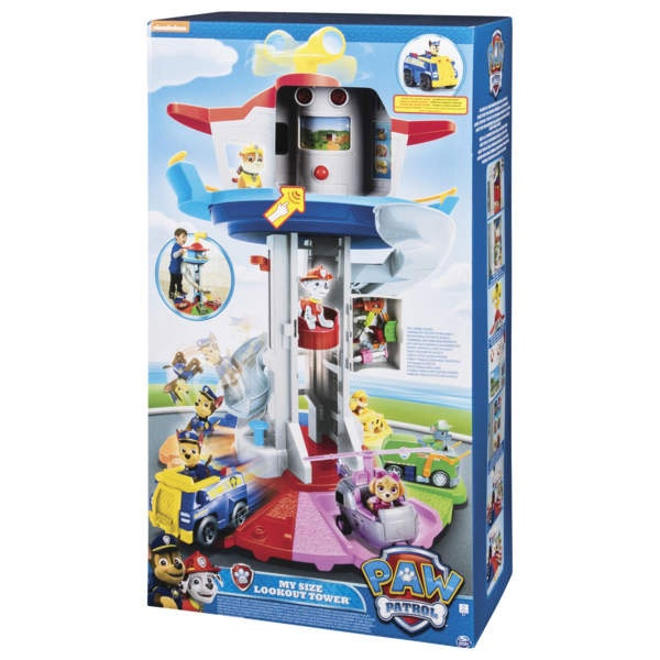 Paw Patrol Life Size Look Out Tower Spielset