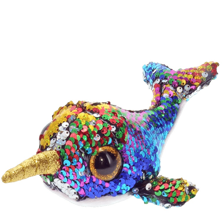 Ty Flippables Calypso Narwhal 15 cm