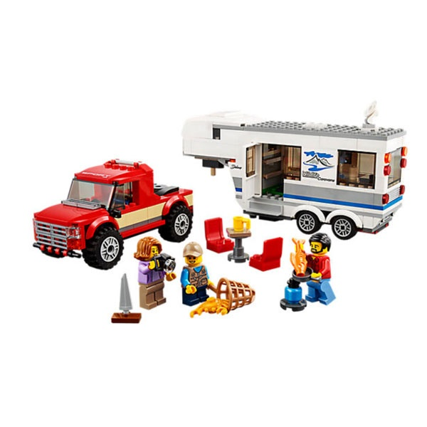 Lego City 60182 Pickup und Wohnwagen