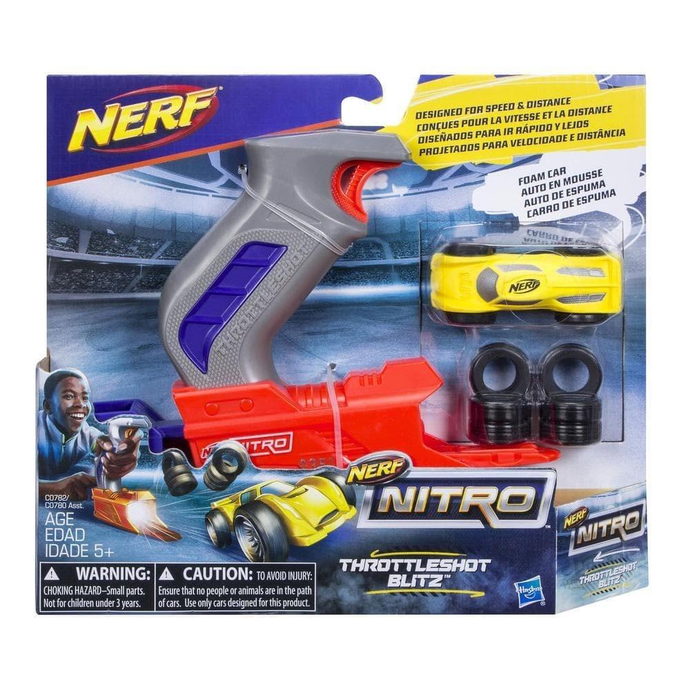 Nerf Nitro ThrottleShot Blitz Grau