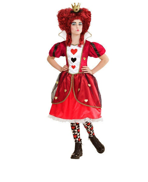 Kostüm Königin der Herzen Gr. 140