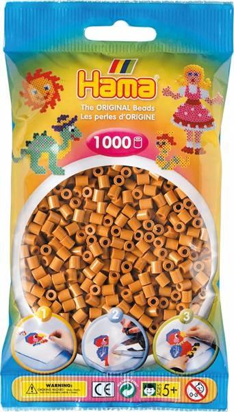 Hama Bügelperlen 1000 Stück hellbraun