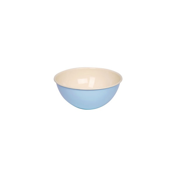 Riess Emaille Obst- und Salatschüssel 30cm Blau