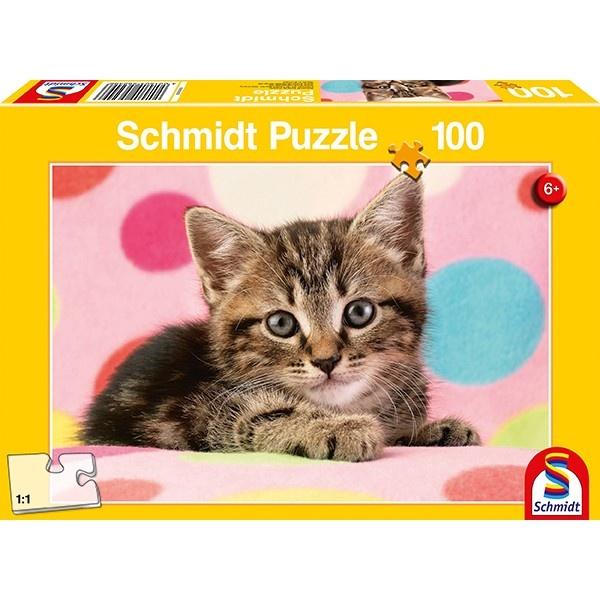 Schmidt Spiele Puzzle Süsses Katzenkind 100 Teile