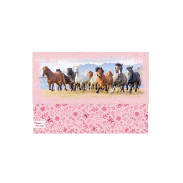 Pferdefreunde Briefpapier-Set