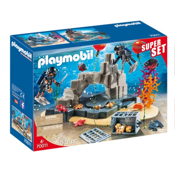 Playmobil 70011 City Action  Superset SEK-Taucheinsatz