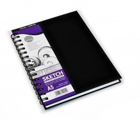 Daler Rowney Simply Skizzenbuch A5  mit Spirale
