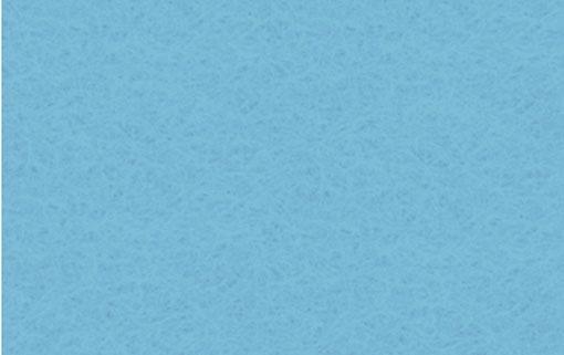 Bastelfilz azurblau