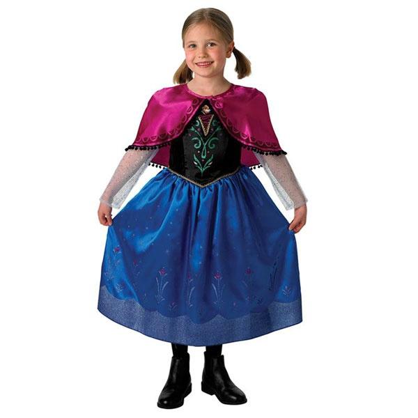 Kostüm Frozen Anna Deluxe Original S 3-4 Jahre