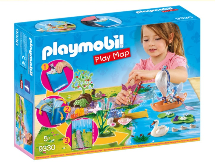 Playmobil 9330 Fairies Play Map Feenland