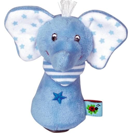 Spiegelburg BabyGlück Minirassel Elefant hellblau