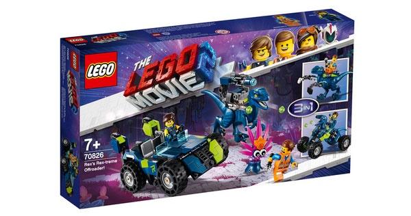 Lego Movie 2 70826 Rex Rextremes Offroad-Fahrzeug