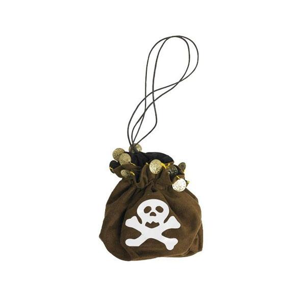 Kostüm-Zubehör Piratentasche