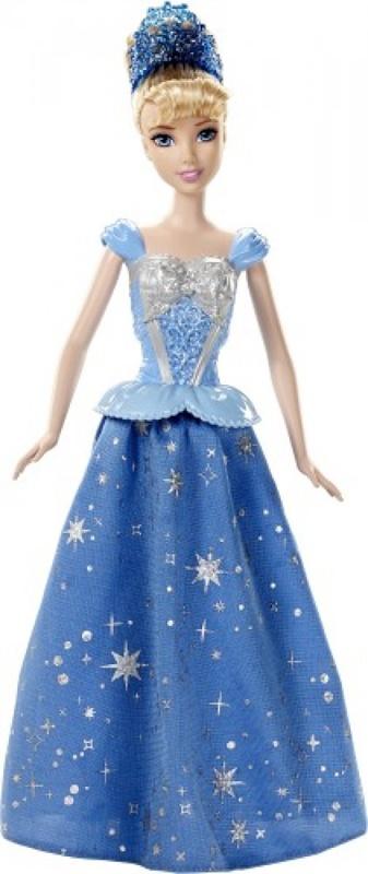 Disney Princess Puppe Zauberkleid Cinderella von Mattel