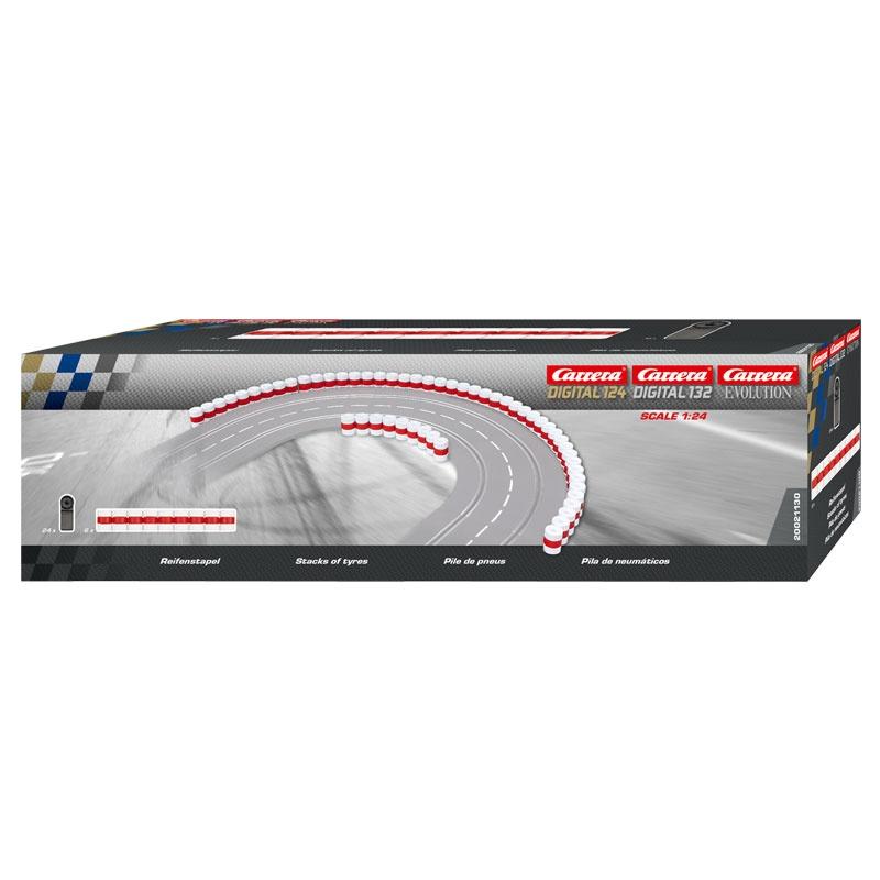 Carrera Digital 124 132 Evolution Reifenstapel 21130