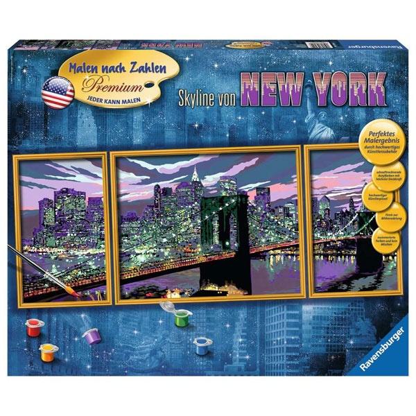 Ravensburger Malen nach Zahlen Skyline von New York