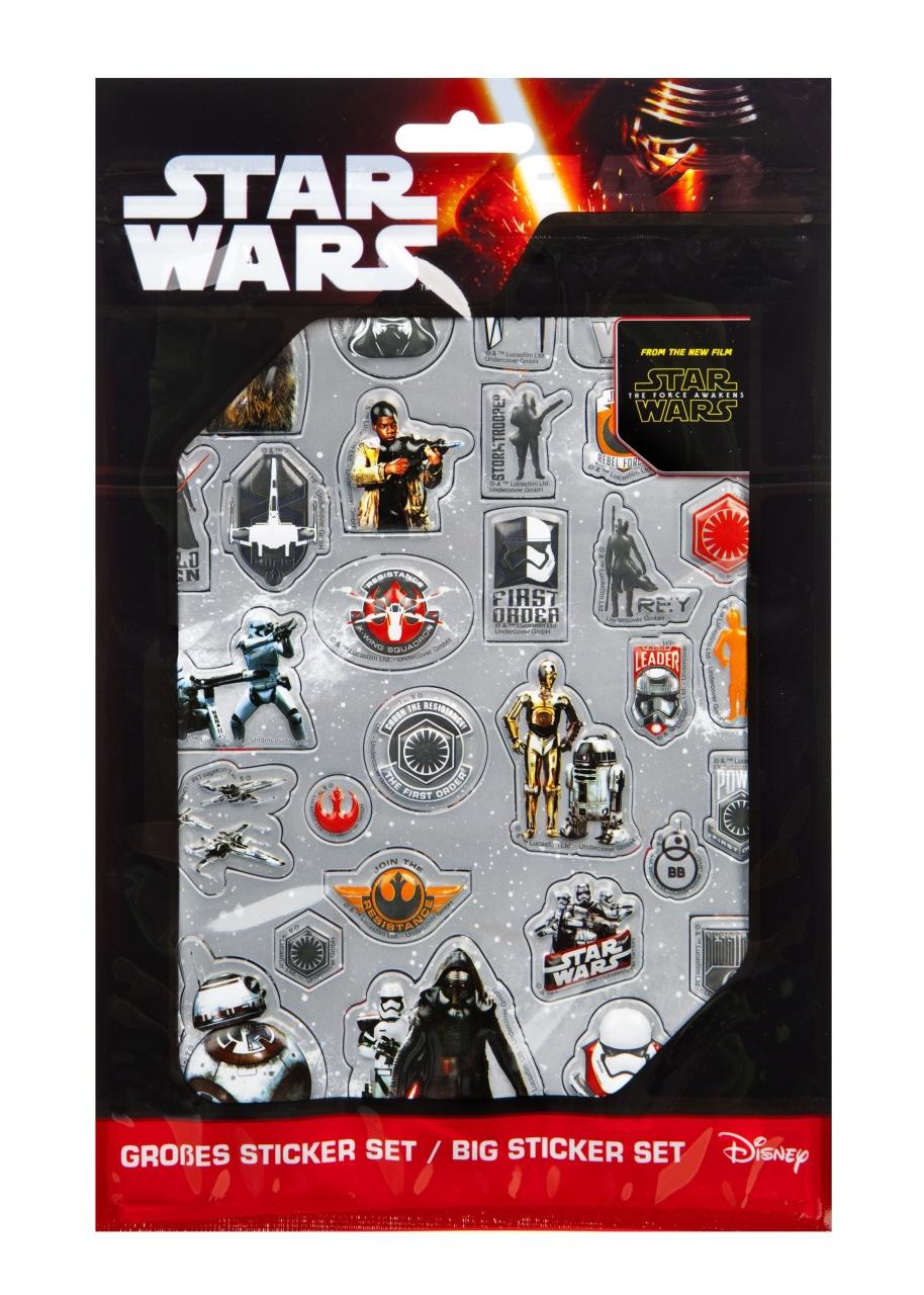 Star Wars großes Sticker Set