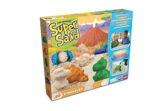 Super Sand Dinosaurier