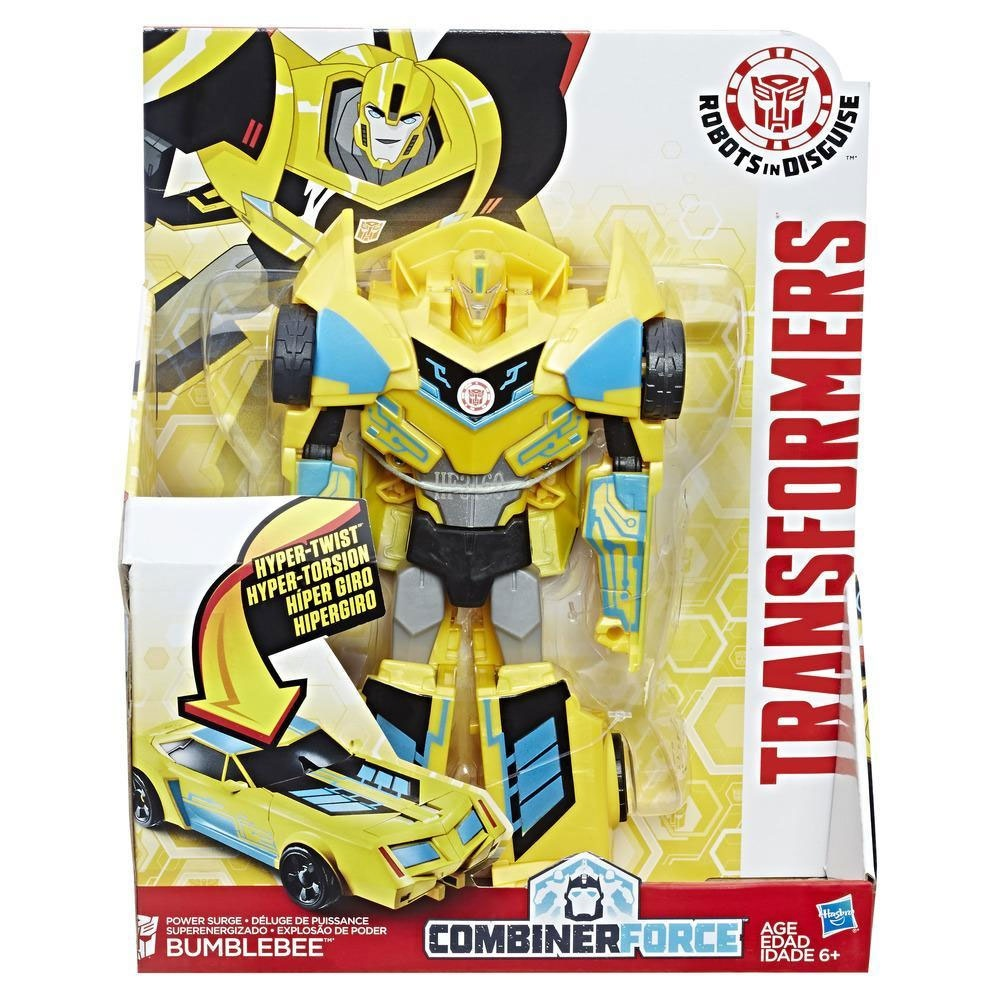 Transformers Force 3-Step Changer Power Surge Bumblebee