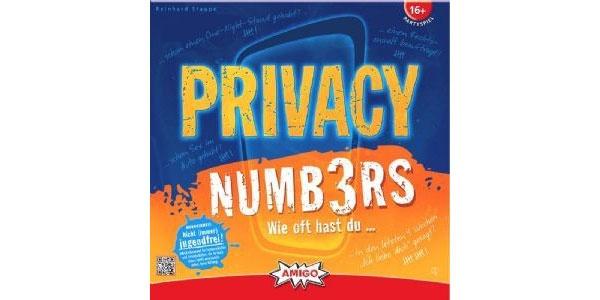 Privacy Numbers Spiel von Amigo