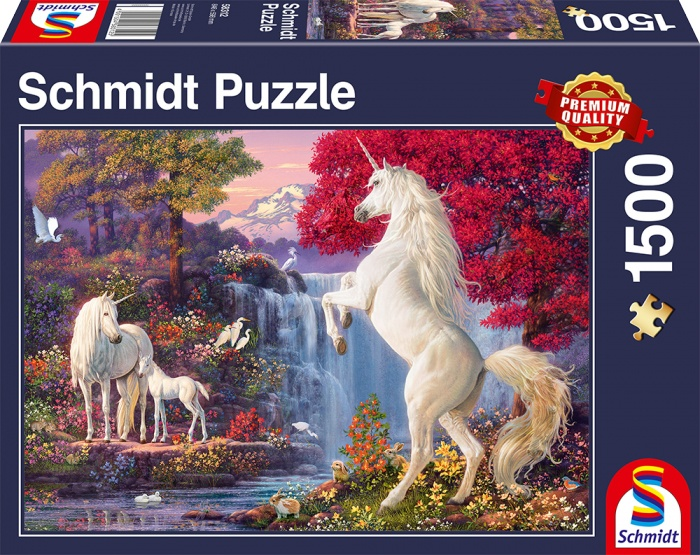 Schmidt Spiele Puzzle Triumph der Einhörner 1500 Teile