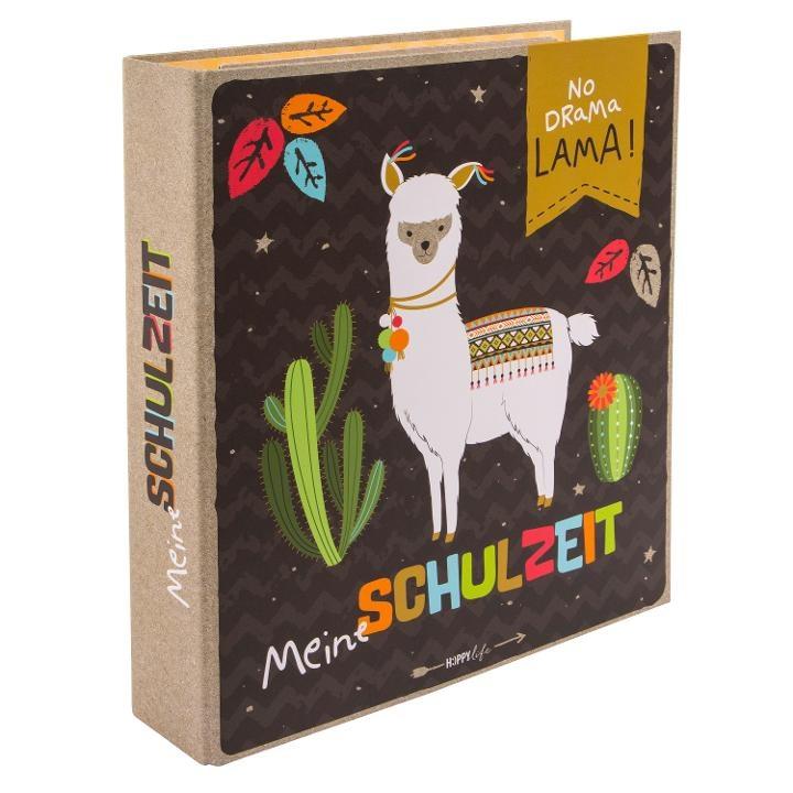 Goldbuch Schulzeitsammelordner A4 Happylife Lama