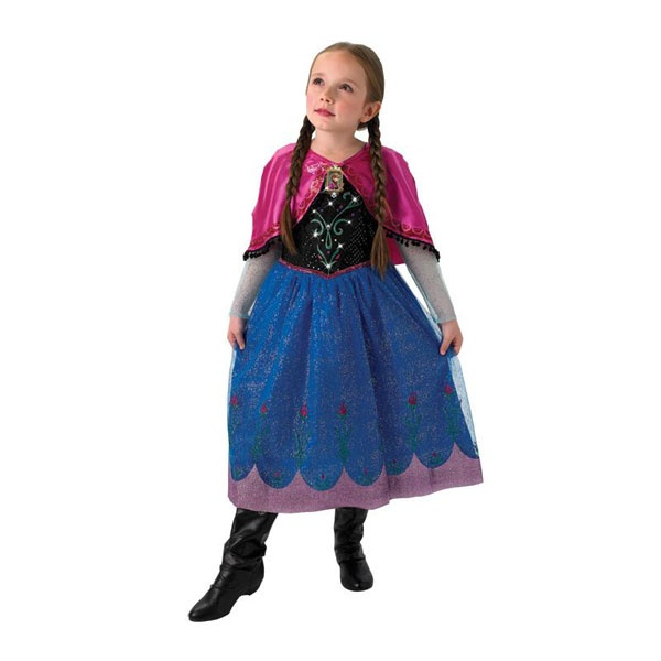 Kostüm Frozen Anna Musical Light up M 5-6 Jahre