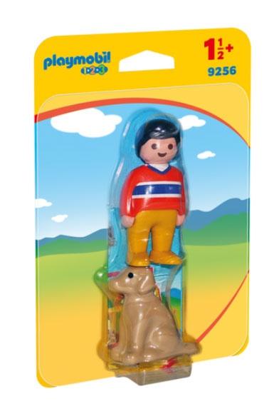 Playmobil 9256 1.2.3 Mann mit Hund
