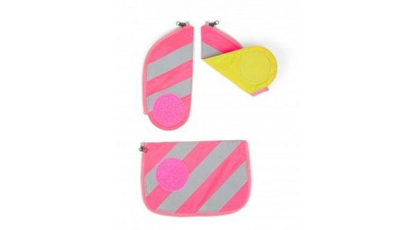 Ergobag Zubehör Cubo Sicherheitsset Reflektorstreifen pink