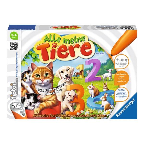 tiptoi Lernspiel Alle meine Tiere