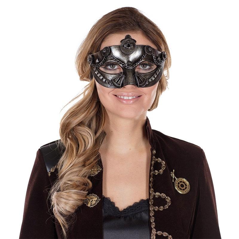 Steampunk Maske Damen