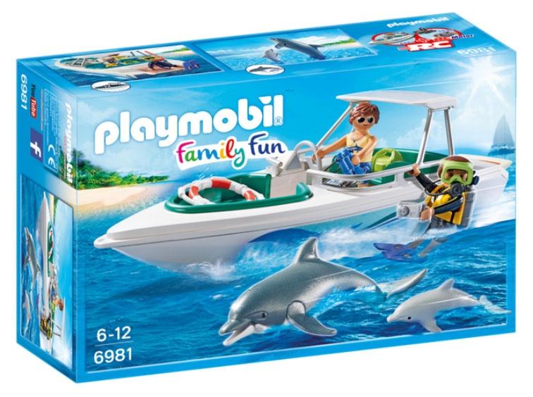 Playmobil 6981 Family Fun Tauchausflug mit Sportboot