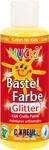 Kreul Mucki Bastelfarbe Glitter Rot 80 ml