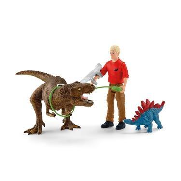 Schleich Dinosaurier Tyrannosaurus Rex Angriff 41465