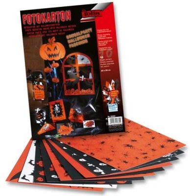 Folia Halloween Motivkarton 25x35cm