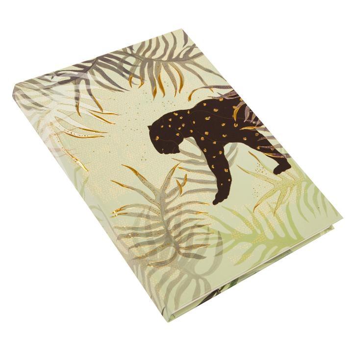 Goldbuch Turnowsky Notizbuch Jungle Vibes Panther