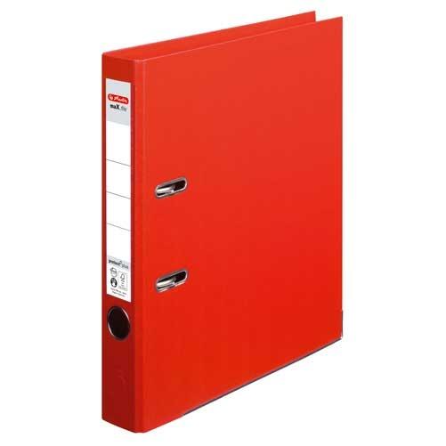 Ordner A4 max.file protect  rot 5 cm von Herlitz