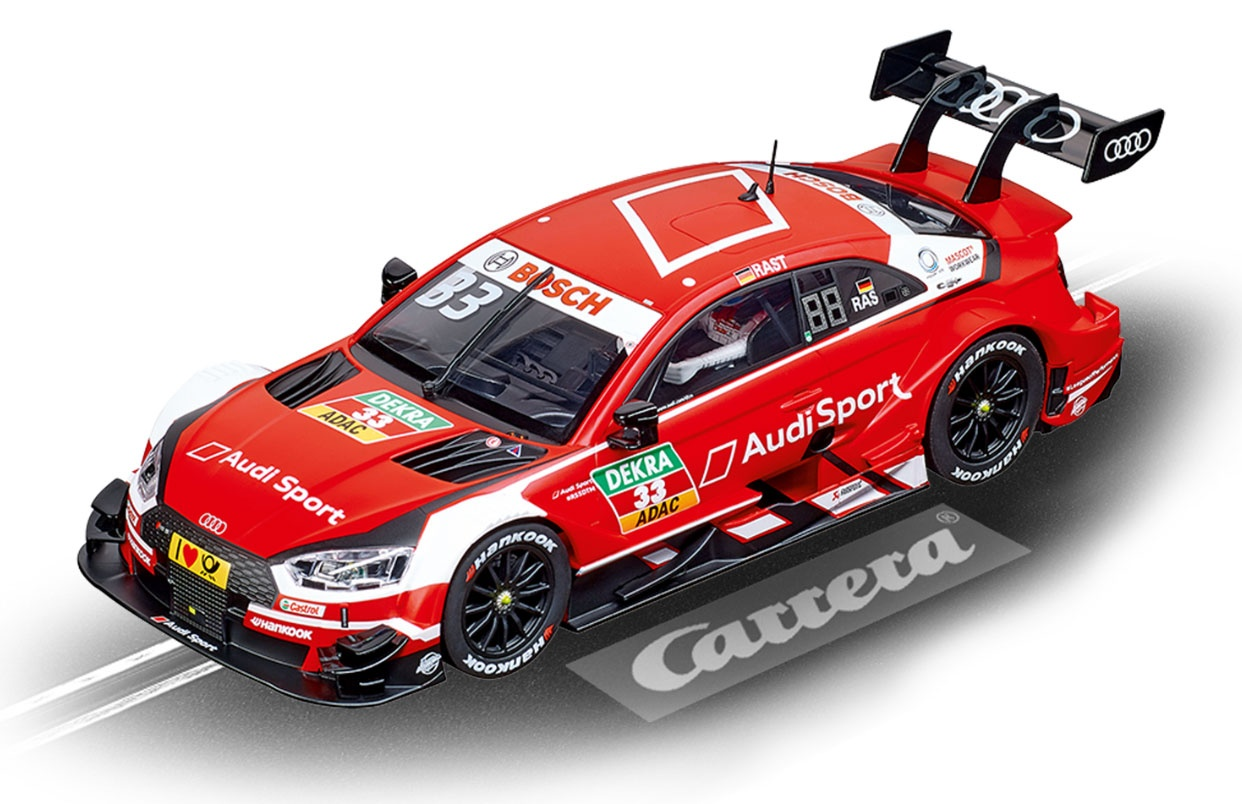 Carrera Digital 124 Audi RS 5 DTM R.Rast No.33 2018