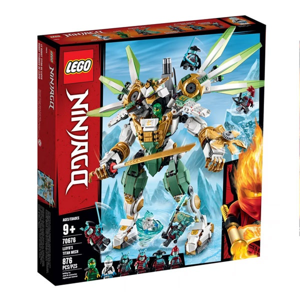 Lego Ninjago 70676 Lloyds Titan-Mech