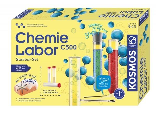 Chemielabor C 500 Experientierkasten