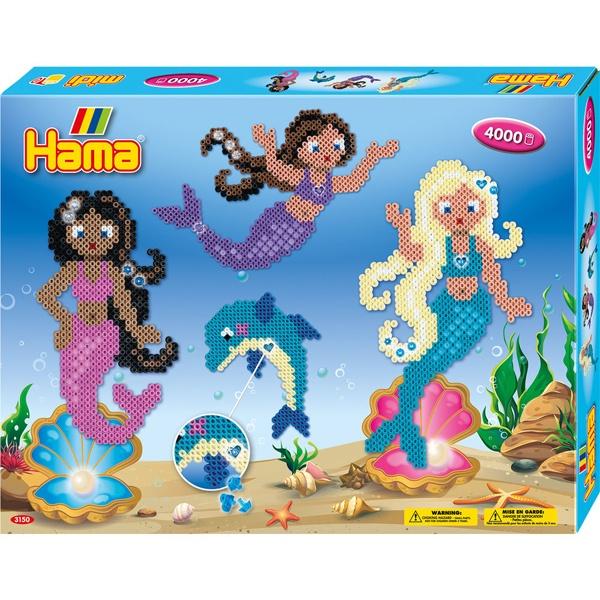 Hama Bügelperlen-Set Meerjungfrauen